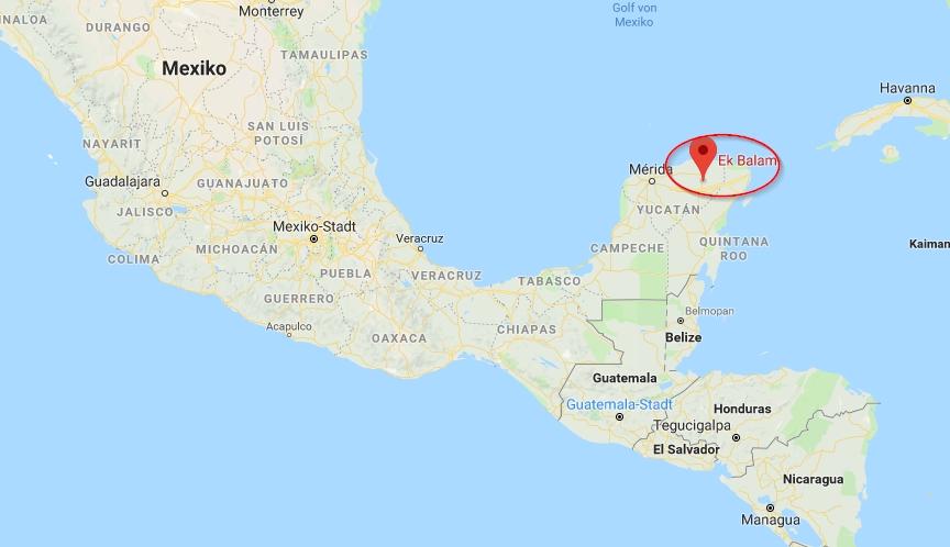 ek balam, mexico